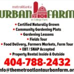 The Metro Atlanta Urban Farm